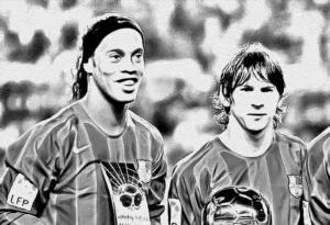Secondo Ronaldinho il suo ex amico Messi NON è il più forte di sempre